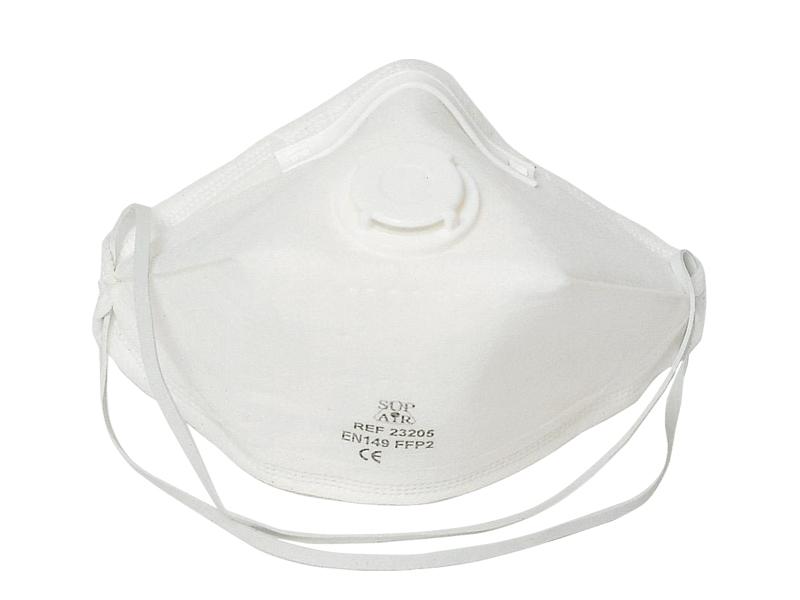 Respirator FFP 2 s ventilom sklopivi