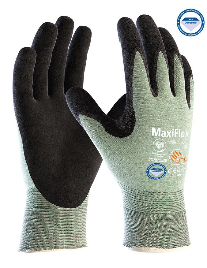 Rukavica MaxiFlex Cut 3 Diamond black