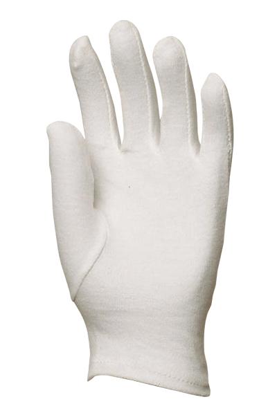 Rukavica pamučna bijela vel. 9;
