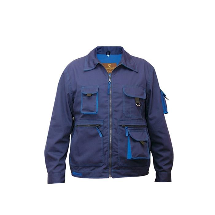 Jacket Bond Navy Blue With Royal Blue Detail Lacuna