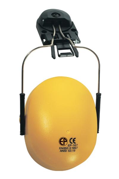 Antifon za ugradnju na kacigu žuti