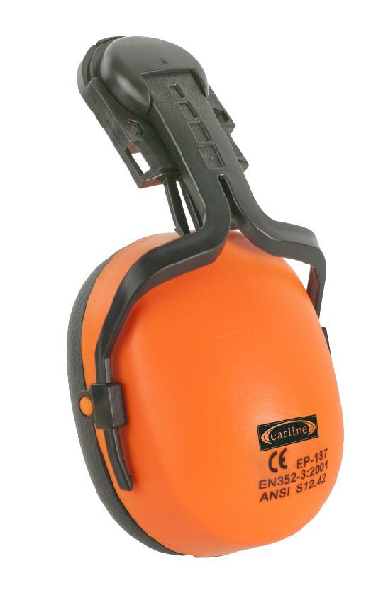 Antifon za ugradnju na kacigu narančasti