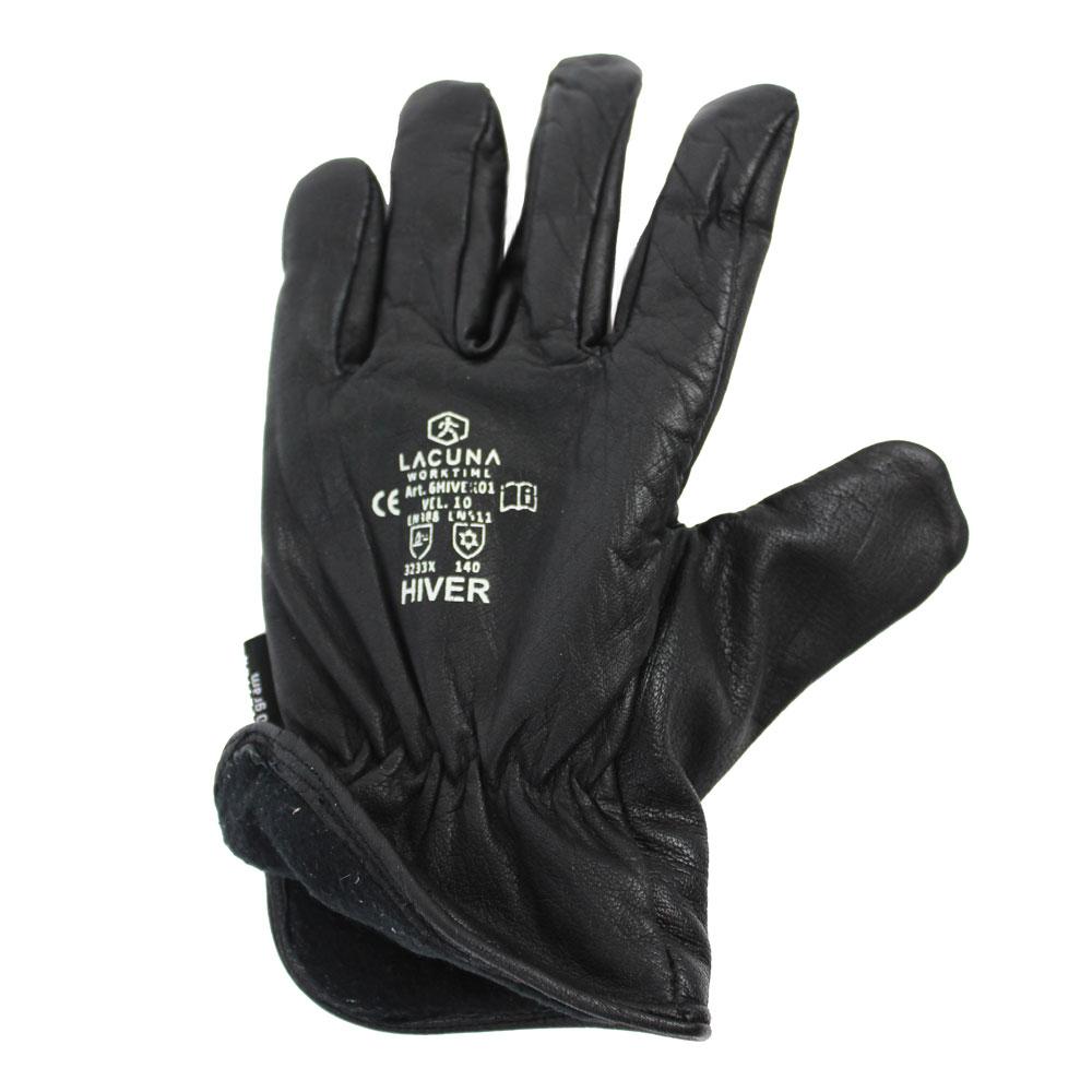 Zimska rukavica HIVER crna