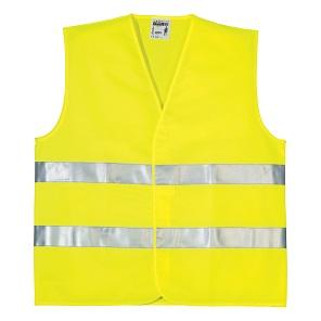 Prsluk signalizirajući  FLUO žuti