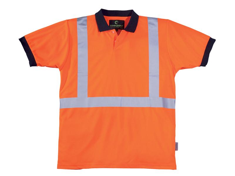 Signalizirajuća Hi-viz polo majica YARD narančasta