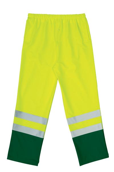 Hlače signalizirajuće žuto/zelene
