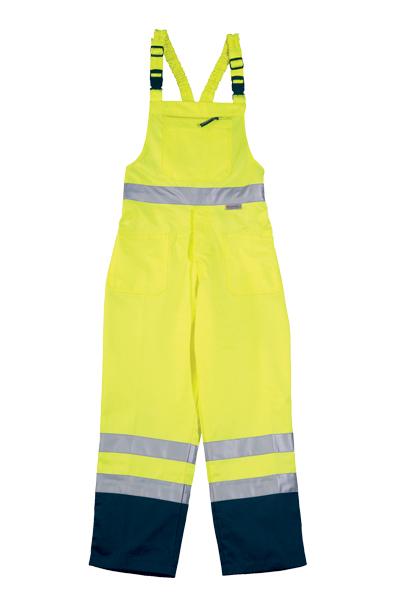 Signalizirajuće hlače farmer PATROL žuto/plave