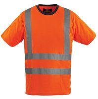 Signalizirajuća Hi-viz T-shirt majica YARD narančasta