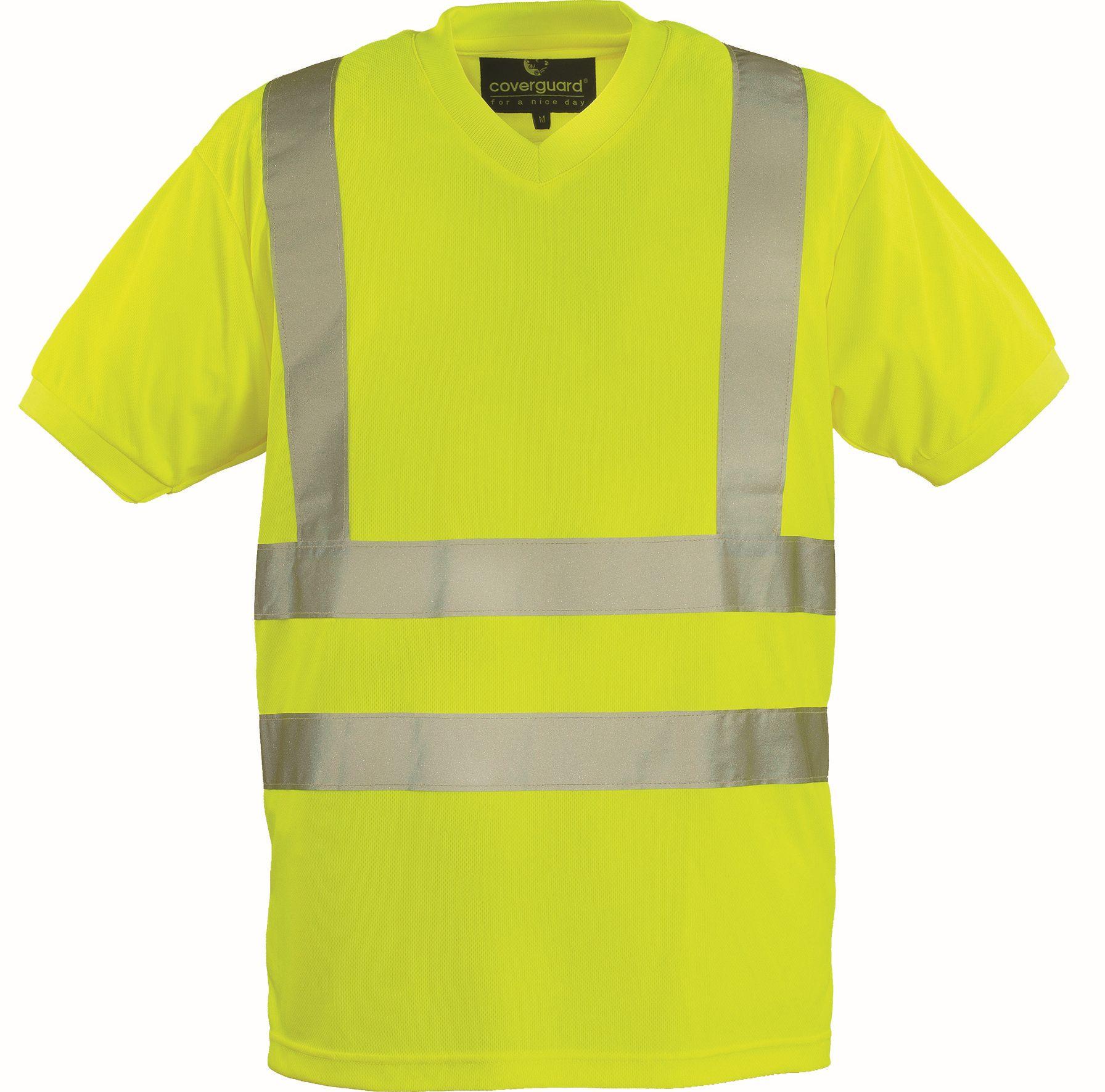 Signalizirajuća majica YARD žuta