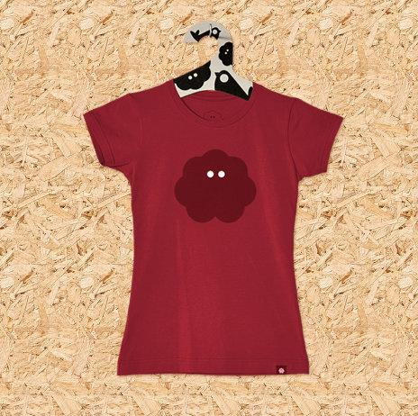 Ženska majica SVAKODNEVKA S POVRĆEM crvena