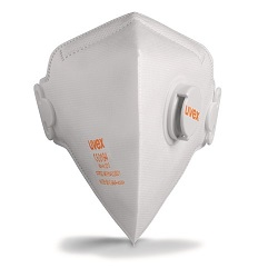 Respirator 8733.210 FFP 2 s ventilom preklopni