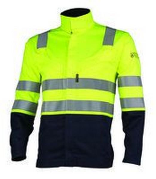 Radna jakna THOR H.V. žuto-plava