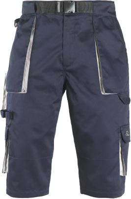 Radne kratke hlače bermude  NAVY plavo/sive