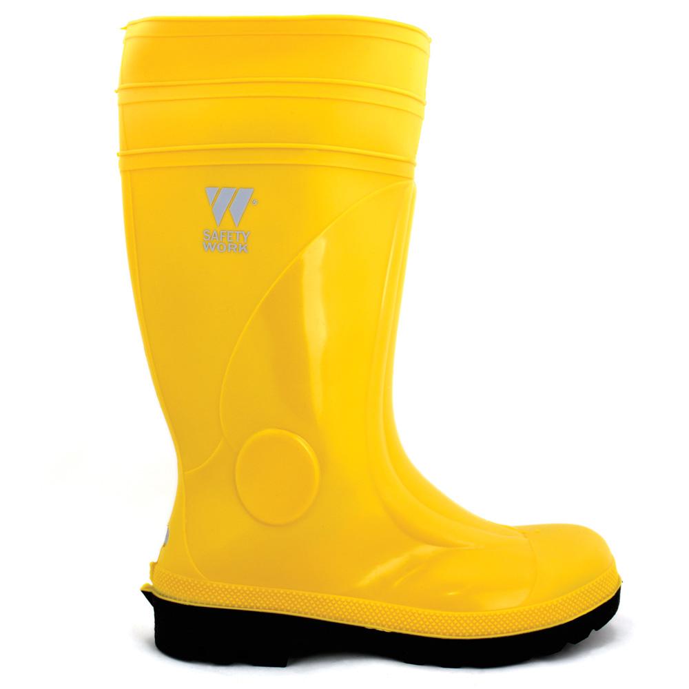 Zaštitna čizma visoka BC SAFETY S5 žuta
