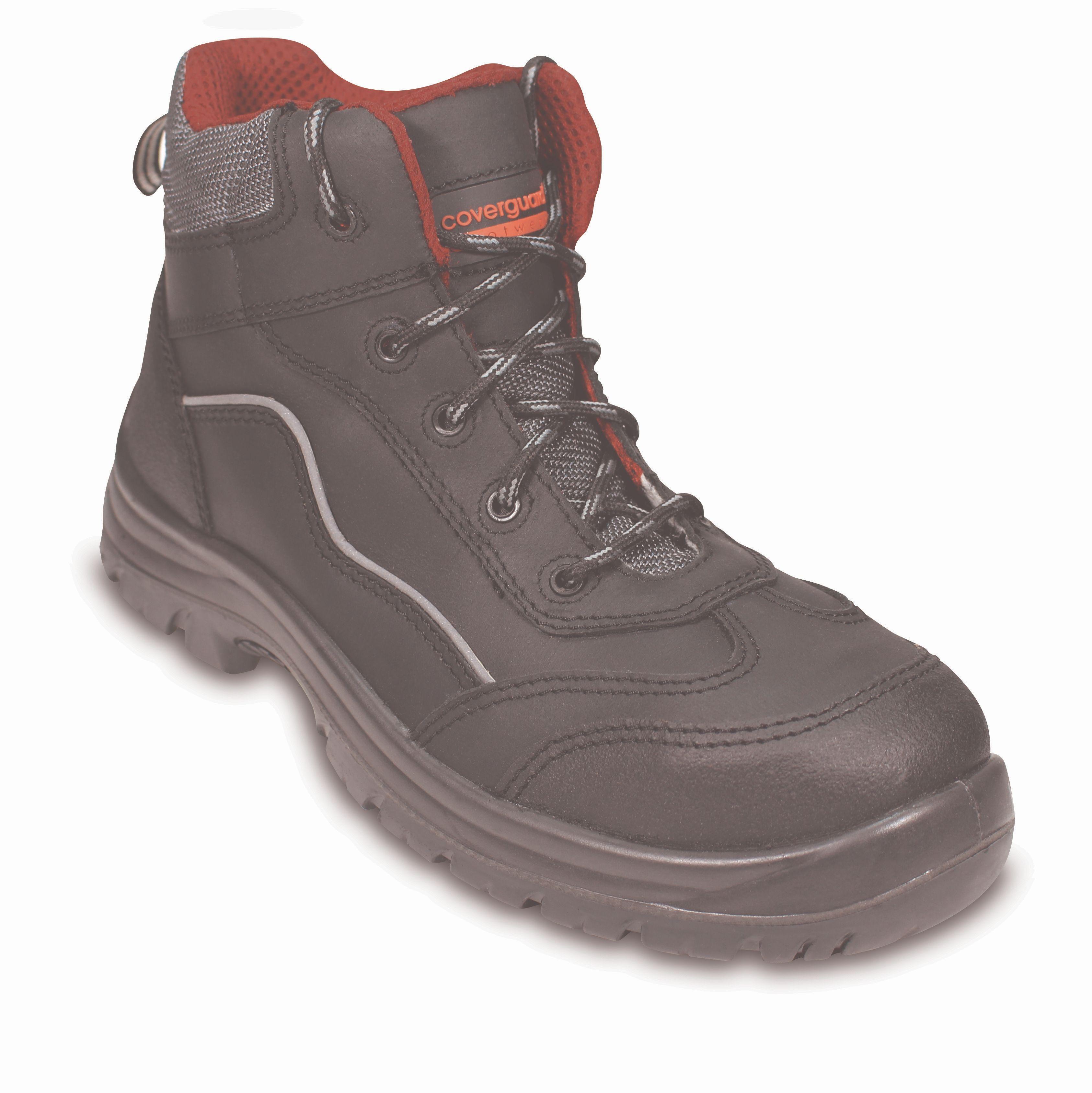 Zaštitna cipela ANDESITE II S3 visoka crna kompozitna kapica