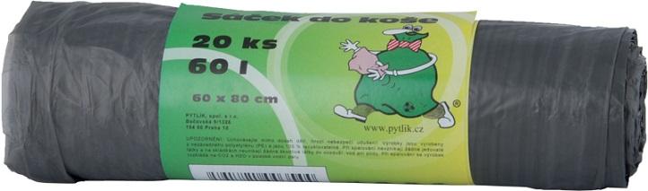 Vreća za smeće crna 30L (50 kom/pak)