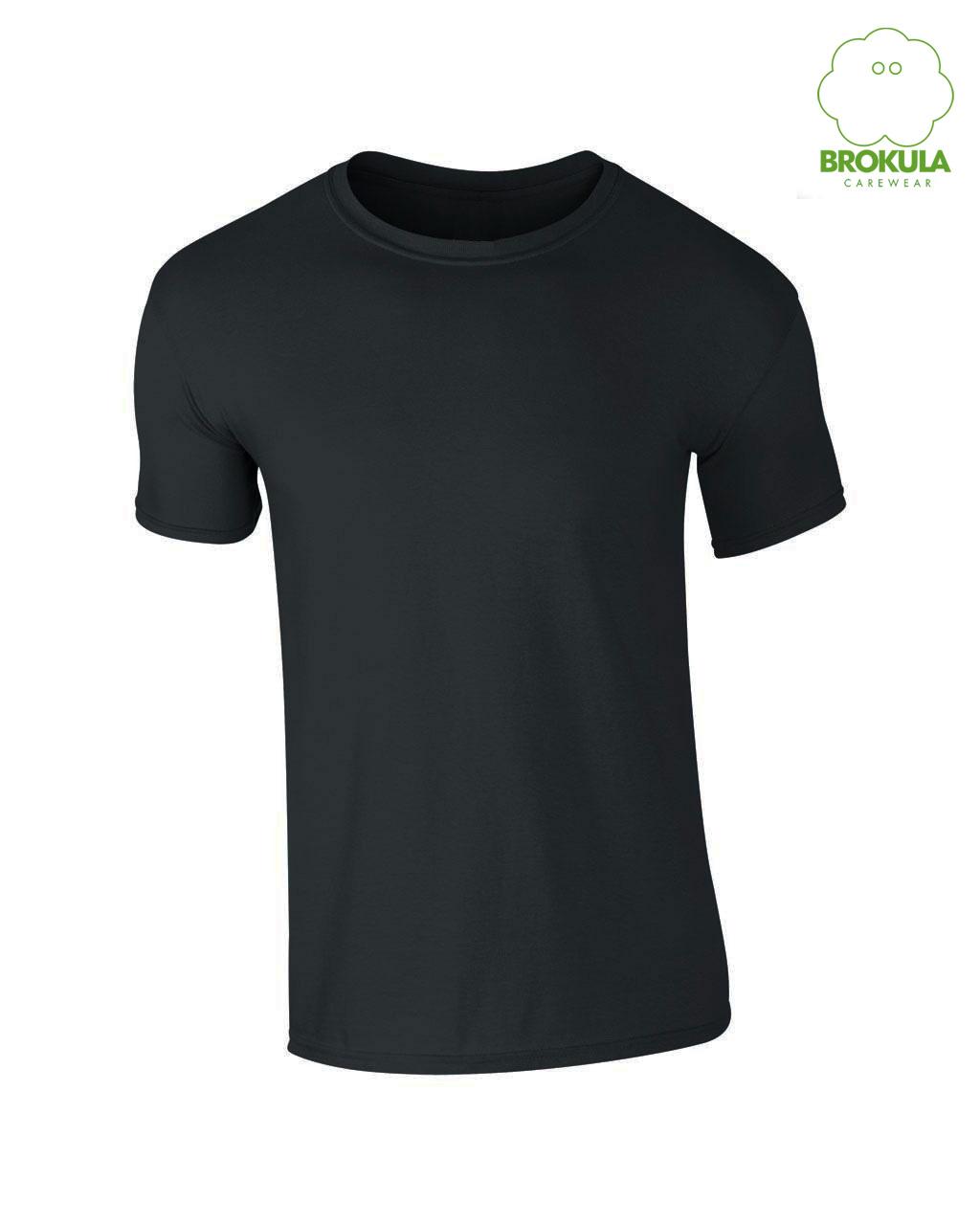 Muška T-shirt majica kratki rukav BROKULA organic line crna