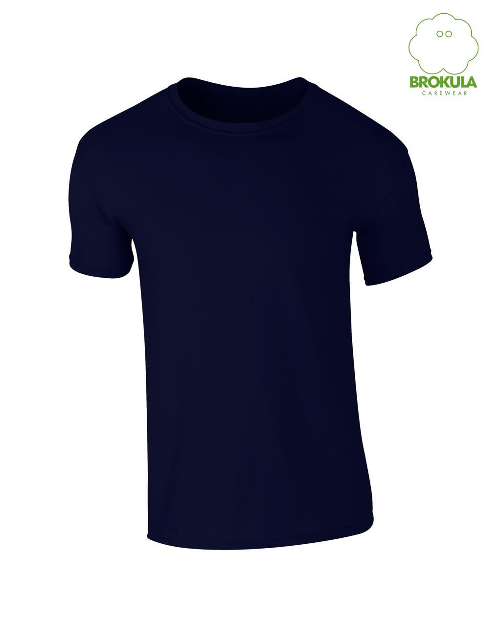 Muška T-shirt majica kratki rukav BROKULA organic line tamnoplava