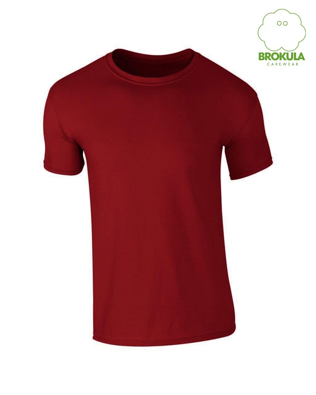 Muška majica kratki rukav BROKULA VIS, crvena