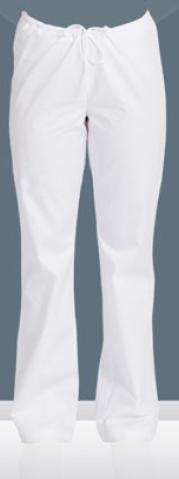 Ženske hlače FLANONA bijela