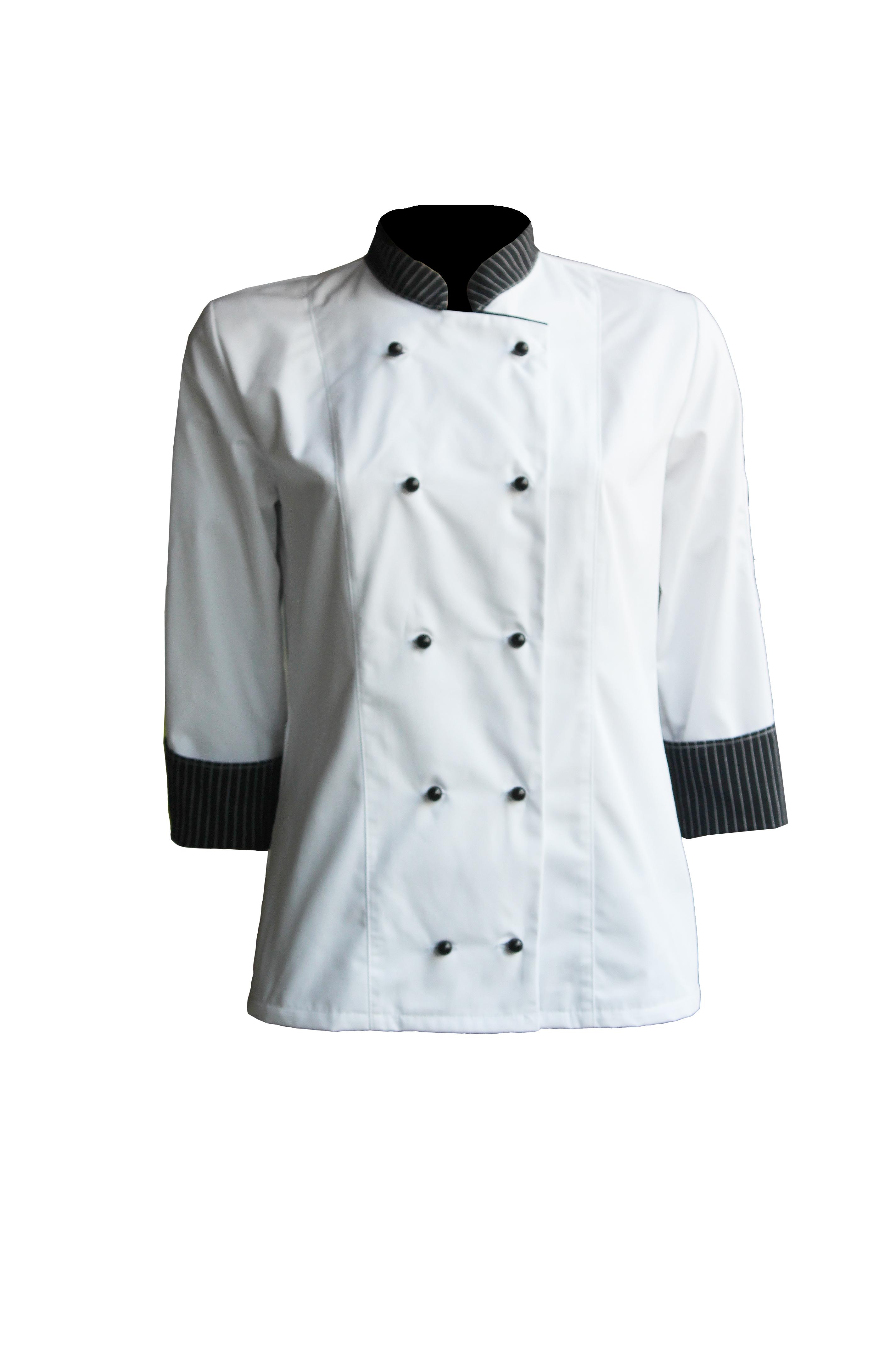 Kuharska bluza ženska ADRIATIC bijela