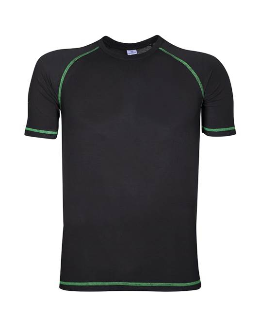 Funkcionalna majica TRIP, kratki rukav,crna