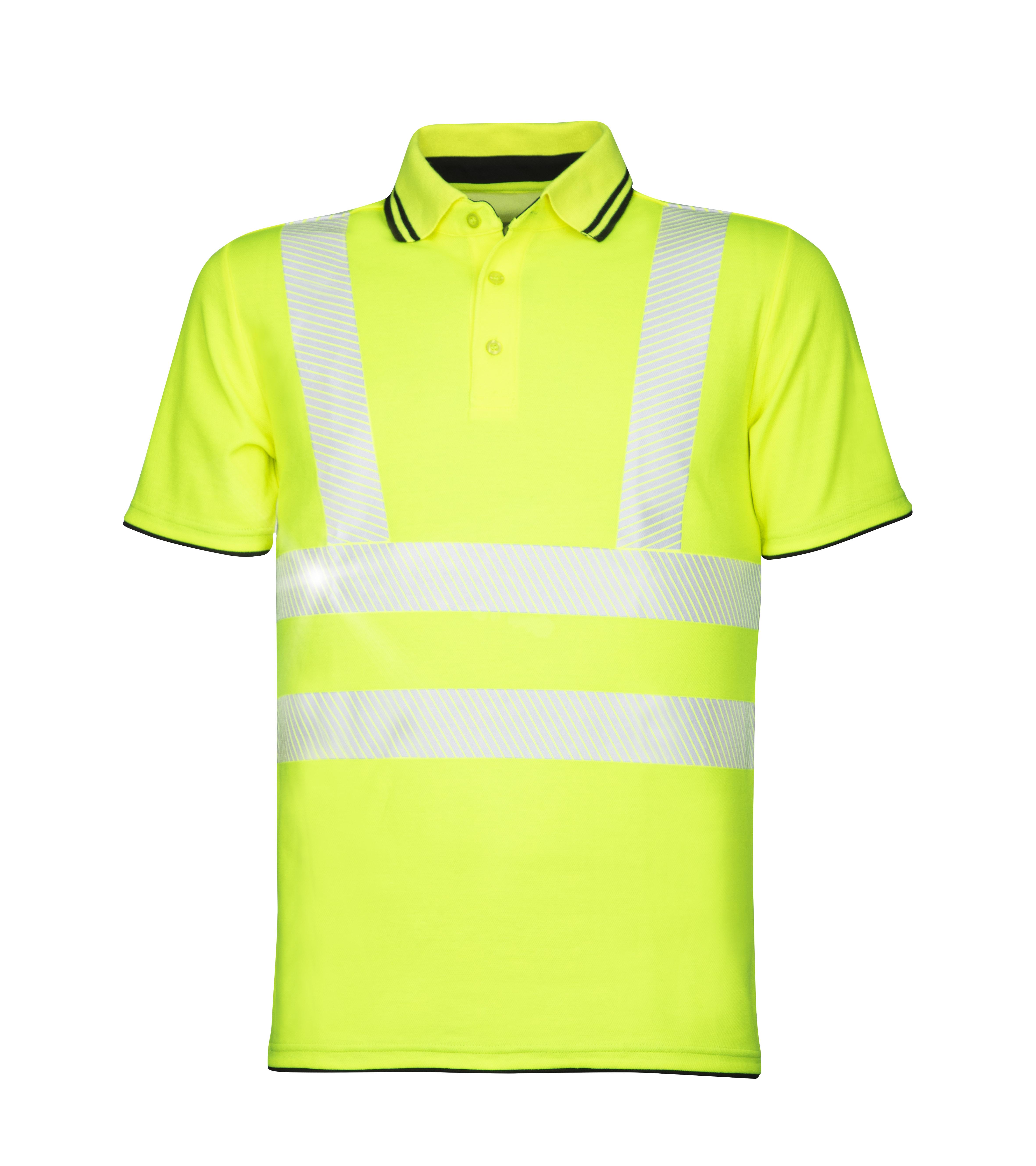 Signalizirajuća Hi-viz polo majica SIGNAL žuta