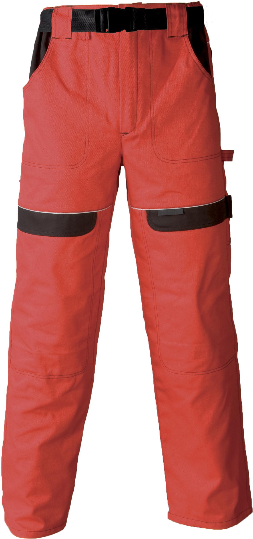 Radne hlače COOL TREND crveno/crne