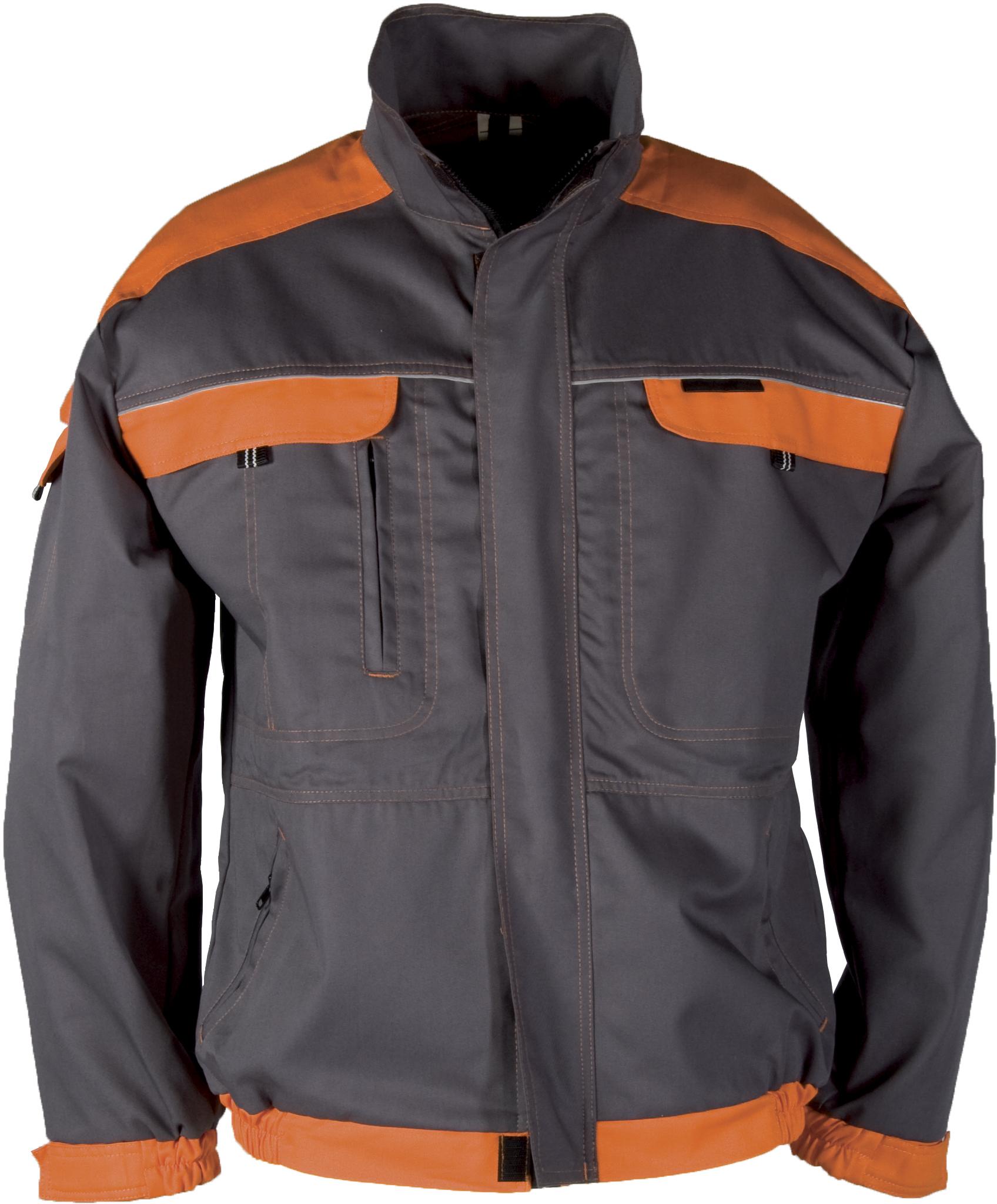 Radna jakna COOL TREND sivo/narančasta