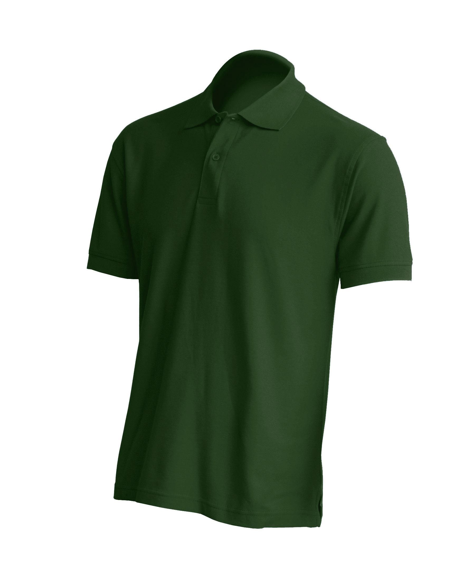 Muška polo majica kratkih rukava, bottle zelena