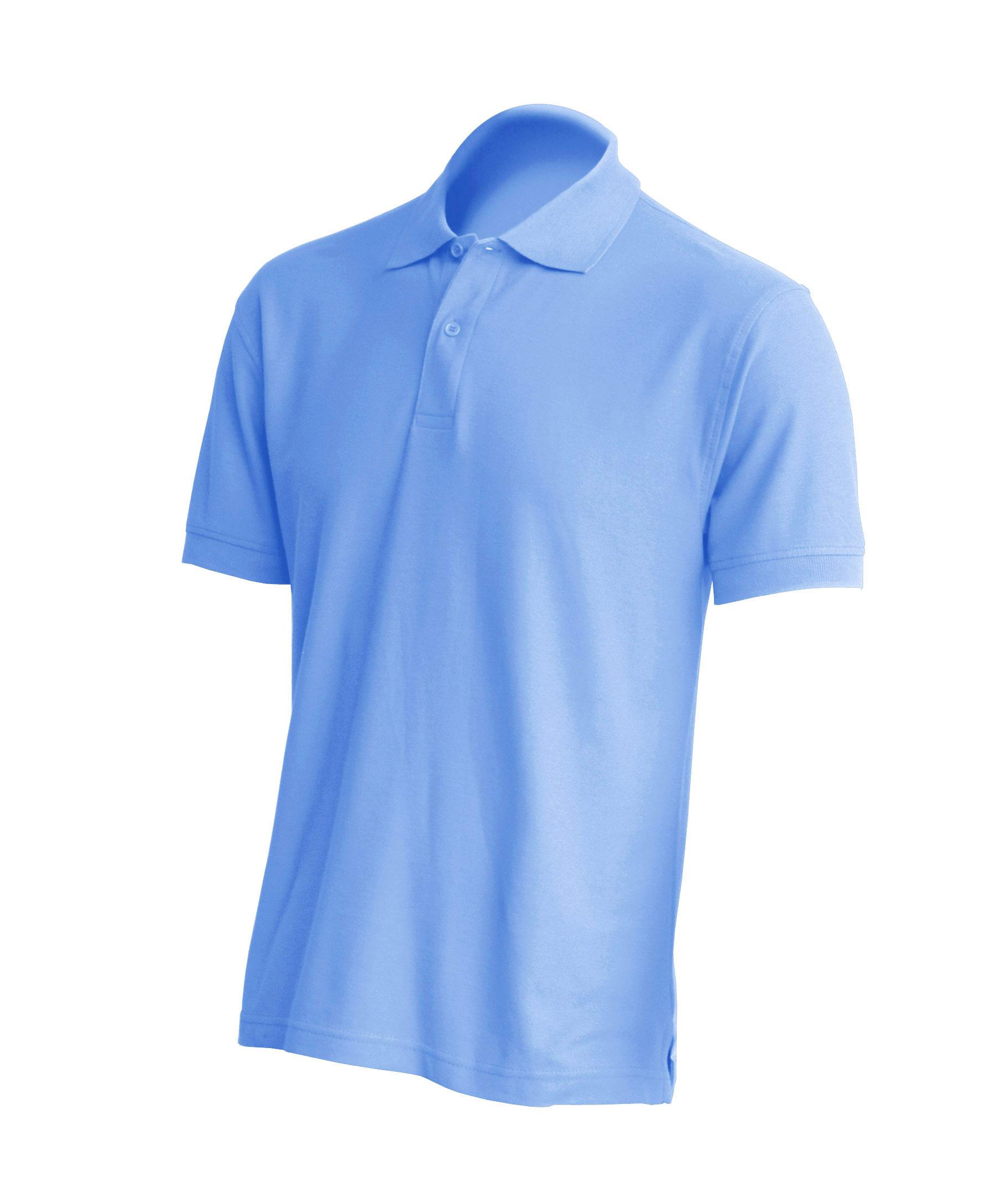 Muška polo majica kratkih rukava, svjetlo plava