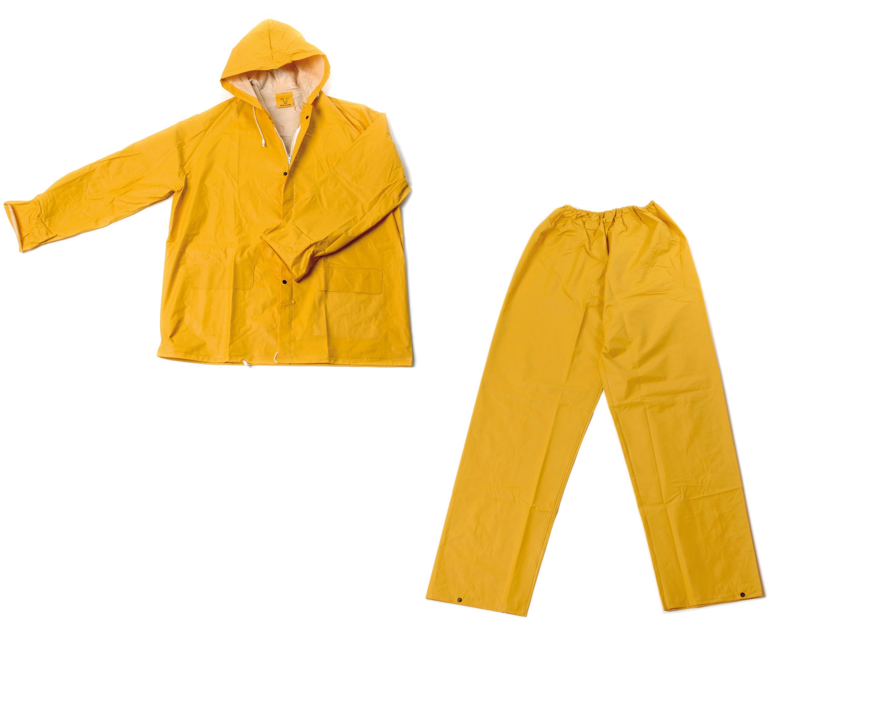 Odijelo PVC/polyester/PVC žuto
