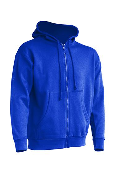Majica HOODIE, muška na cif, royal plava