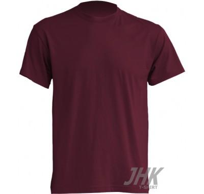 Muška T-shirt majica kratki rukav burgundy