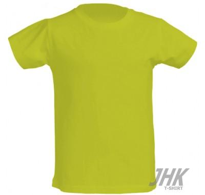 Dječja t-shirt majica kratki rukav, pistacija