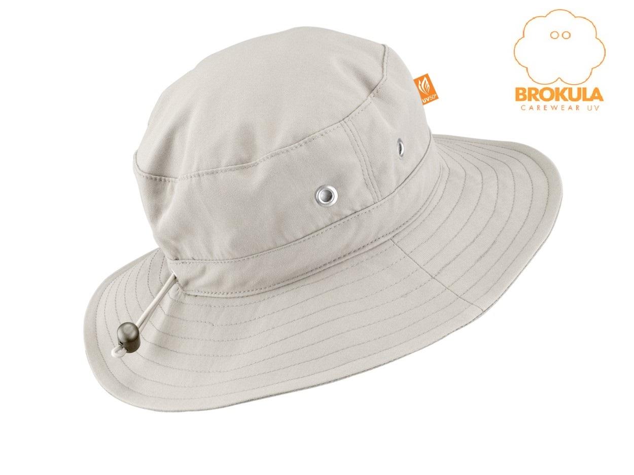 BROKULA MOLVA UV šešir dječji - basic, bež