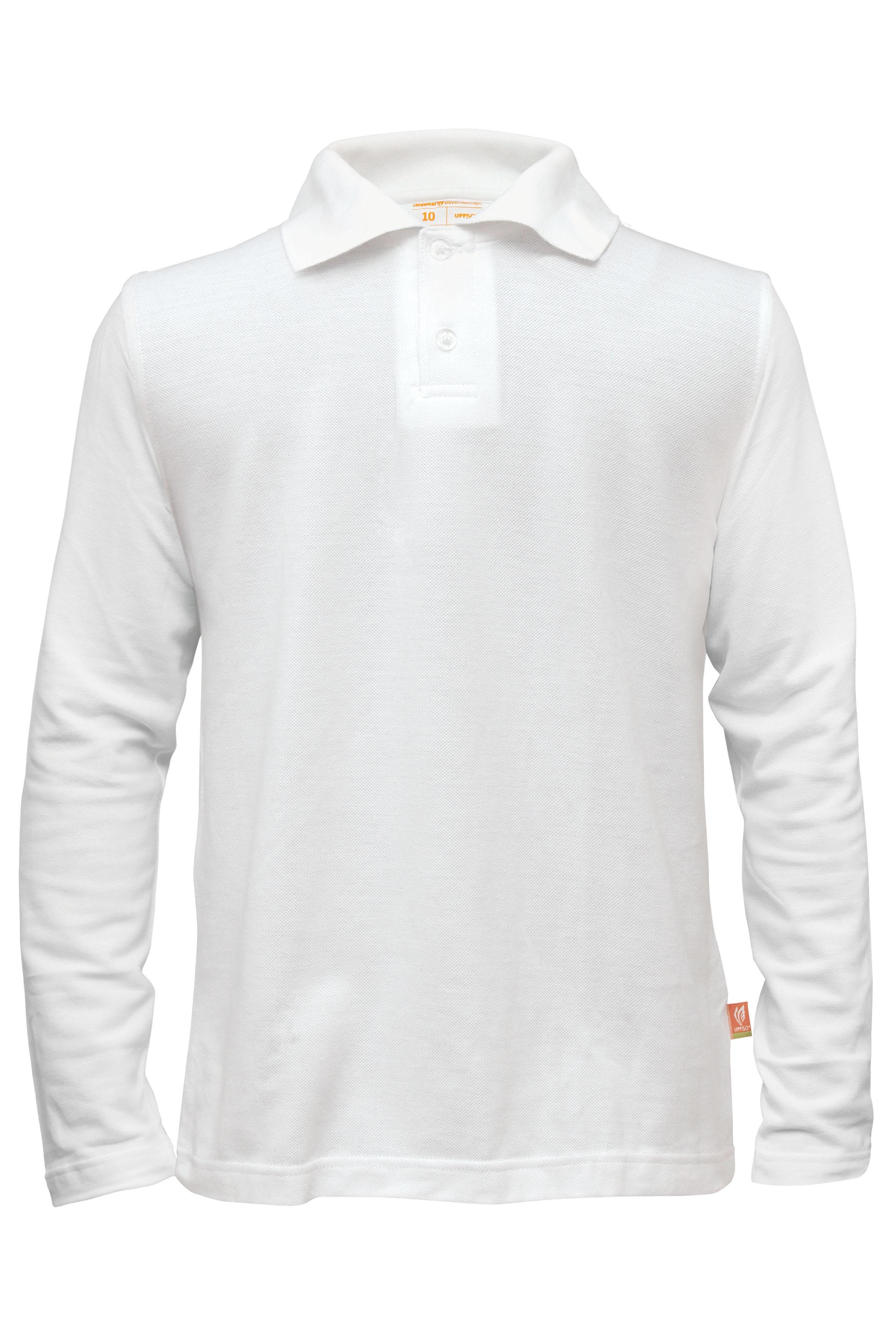 Polo bijela UV majica dječja d.r.