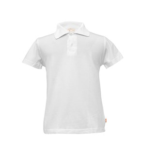 acd64fb39 Adults white kids polo shirt short sl | Lacuna