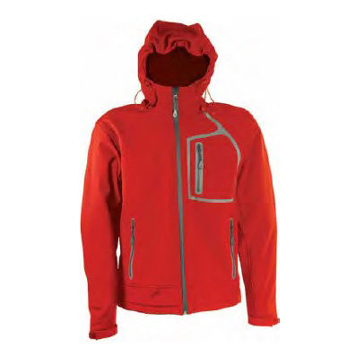 Softshell jakna WILLIAM crvena