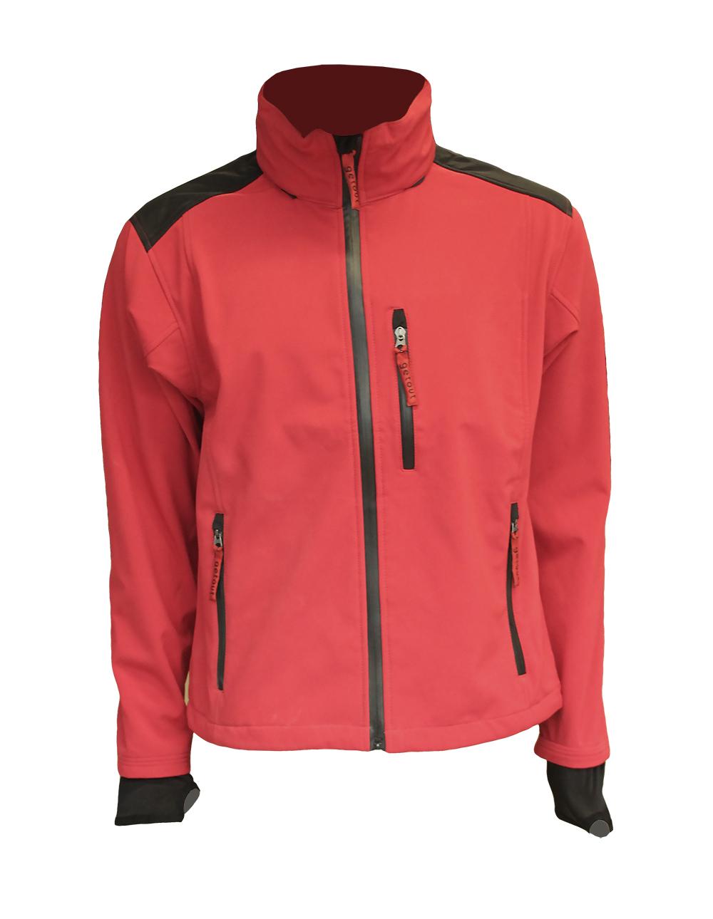 Softshell jakna crveno-crna DANTE