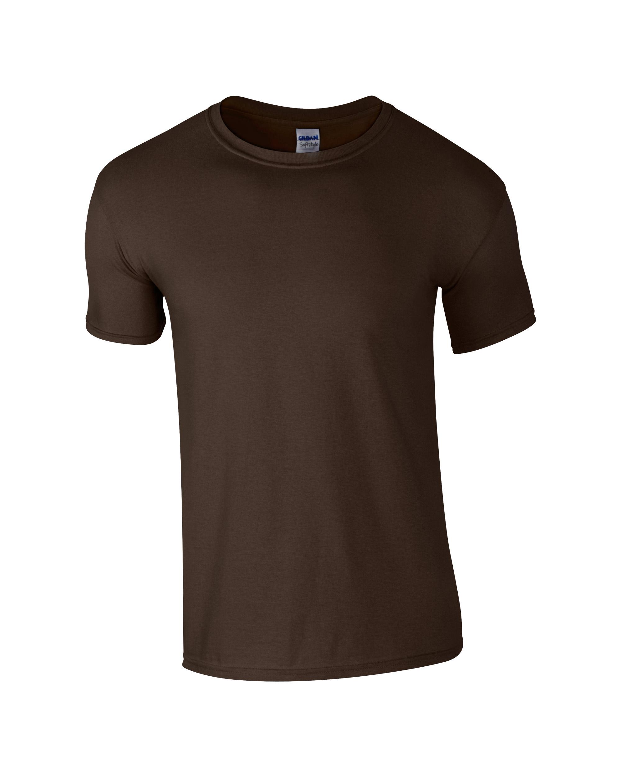 Majica kratki rukav T-shirt dark chocolate