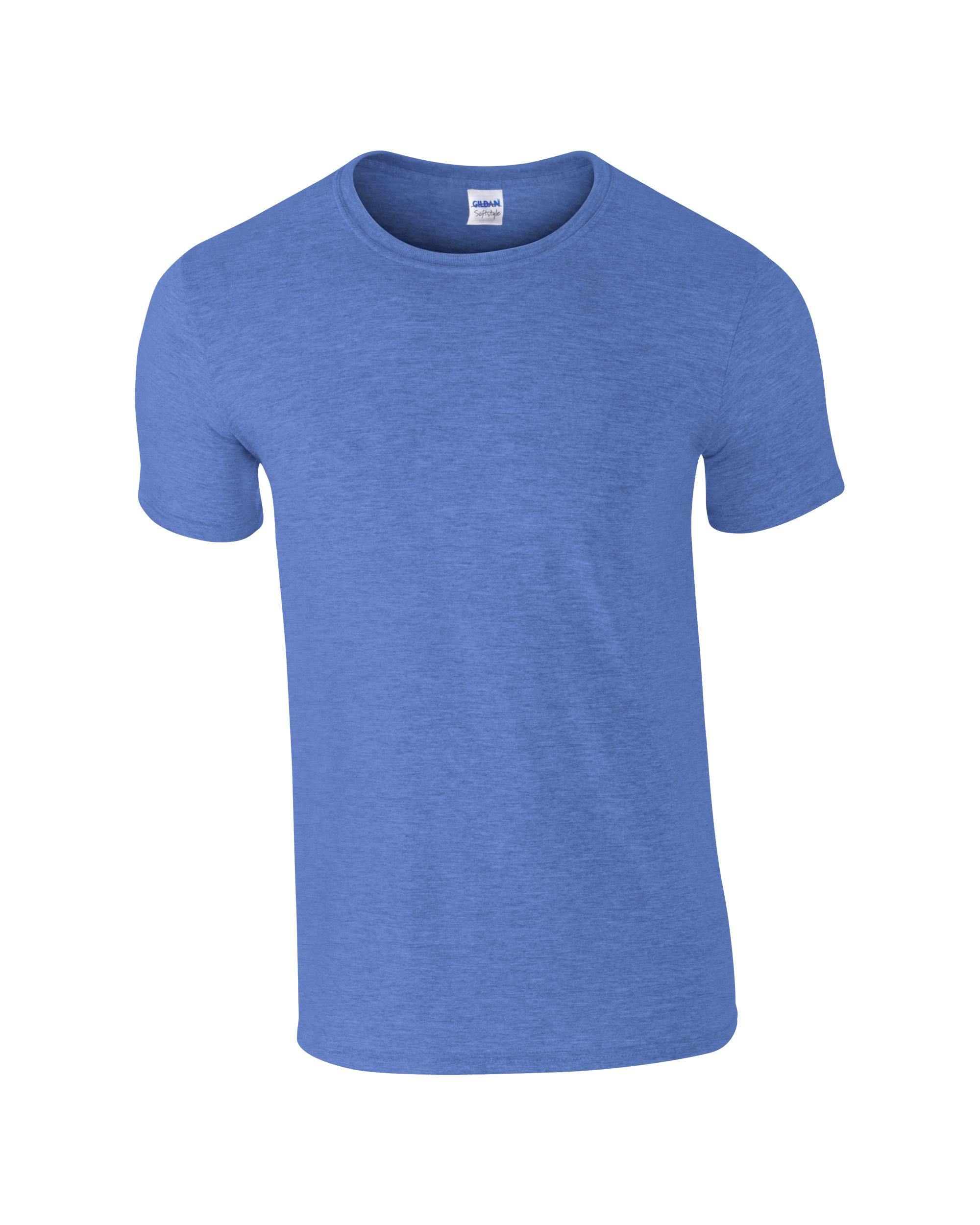 Majca kratki rukav t-shirt, muška, indigo plava
