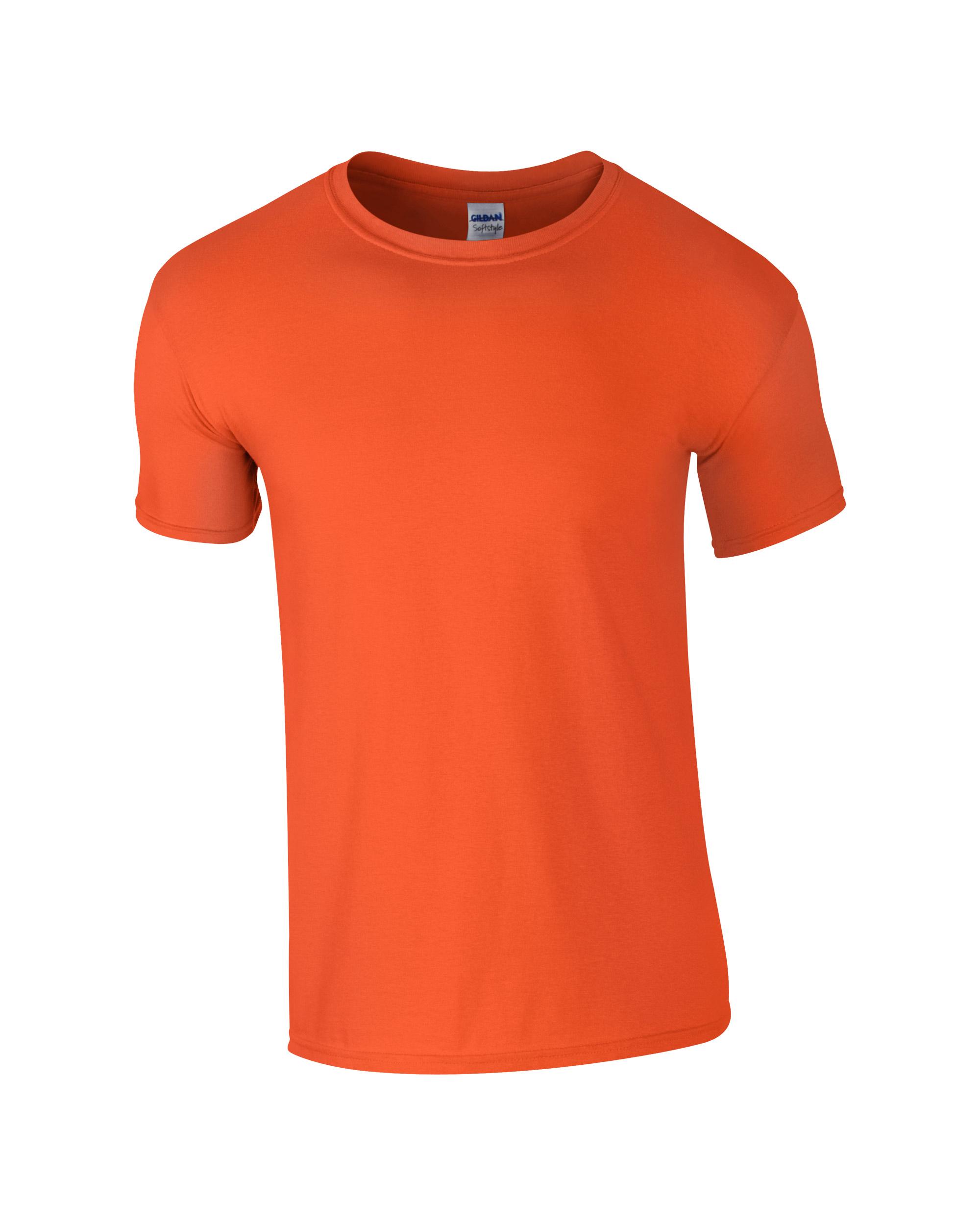 Muška T-shirt majica kratki rukav narančasta