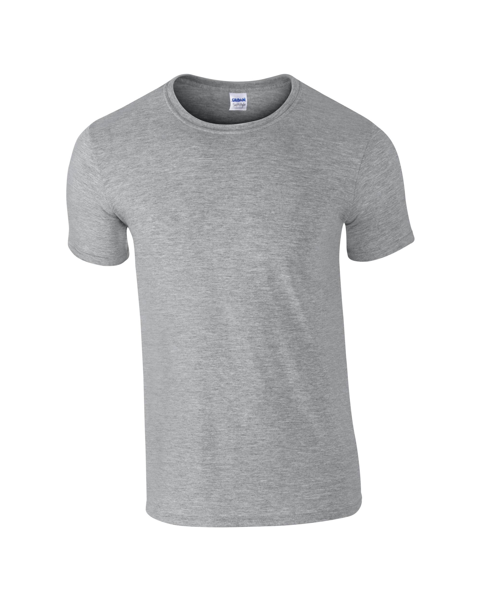 Majica SOLS muška k.r. grey melange