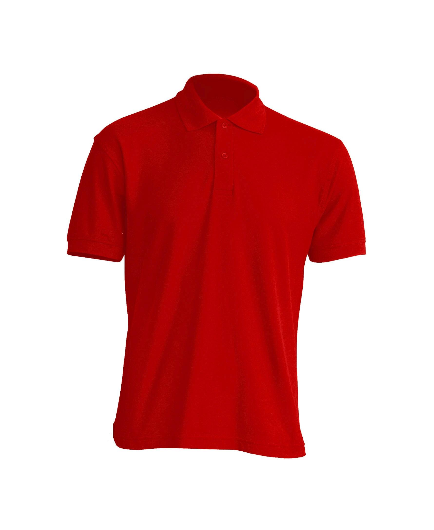 Muška polo majica kratkih rukava, crvena