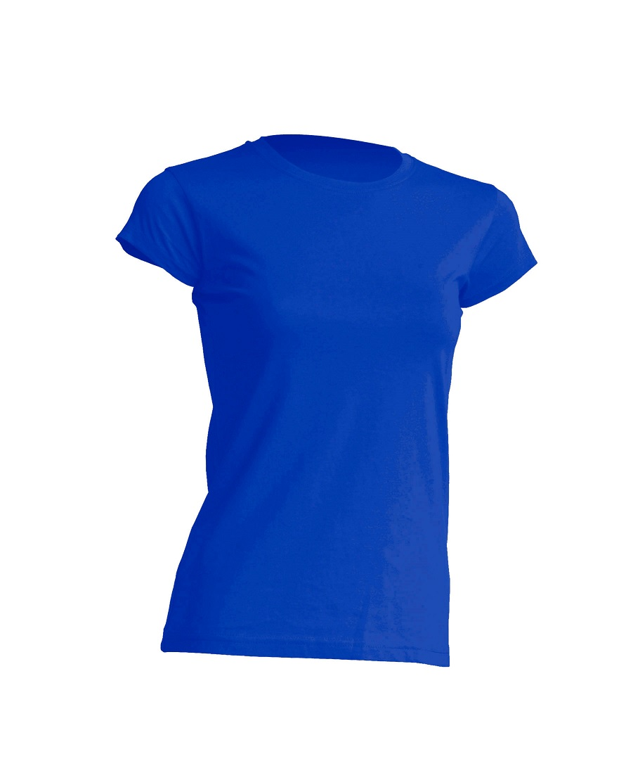 Ženska t-shirt majica kratki rukav r-neck royal
