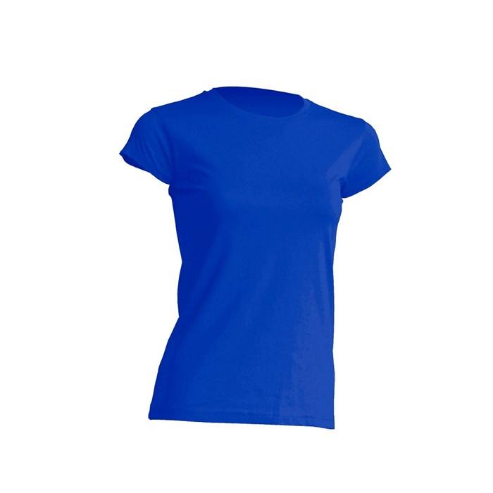 a35d5273bba2 Women t shirt short sleeve r-neck royal blue 150gr., size L | Lacuna